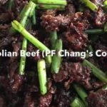P.F. Chang's Copycat Mongolian Beef