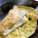 Lots-of-Herbs Omelet with Brie