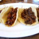 Marinated Hot Pork: Carne Adovada Tacos