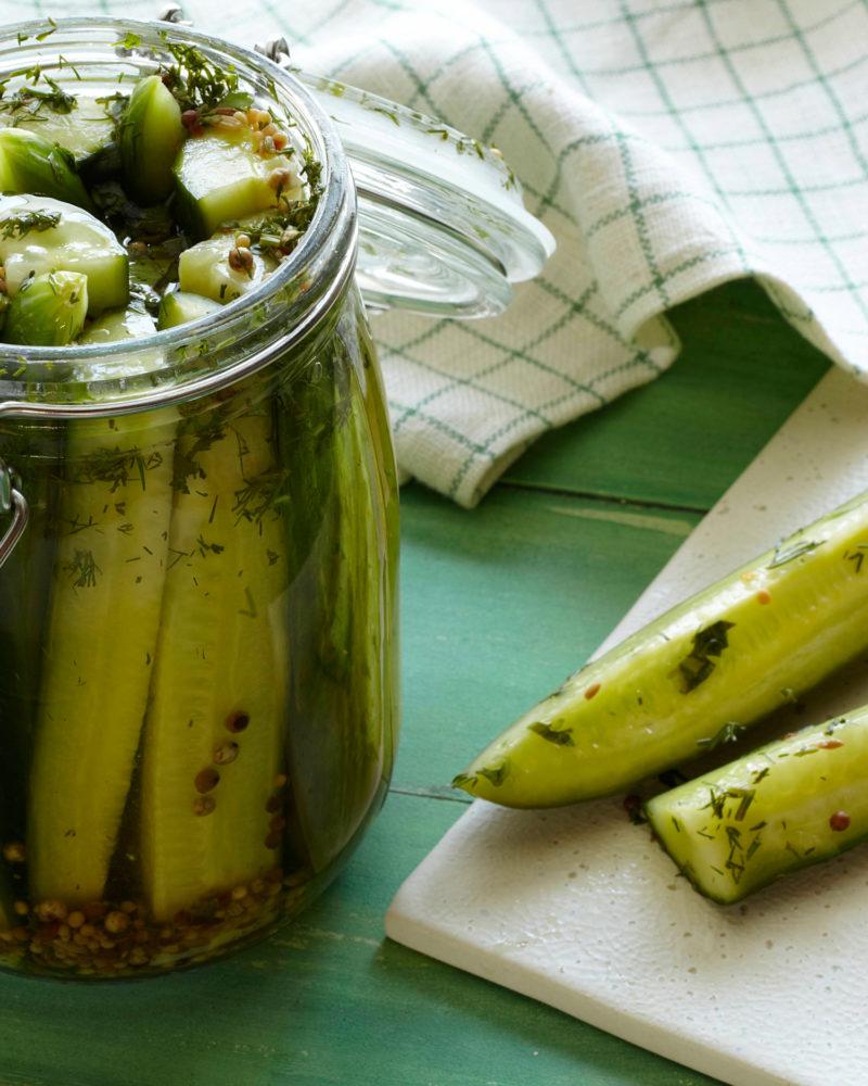 Homemade Kosher Dill Pickle