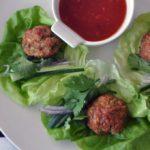 Vietnamese Chicken Meatballs