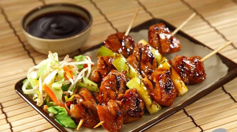 Chicken Yakitori With Honey Sauce Recipes — Dishmaps