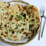 Garlic-Cilantro Naan Bread