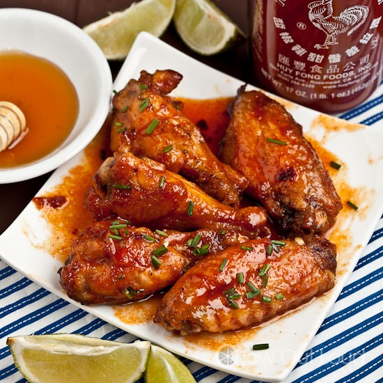 Sriracha Glazed Chicken