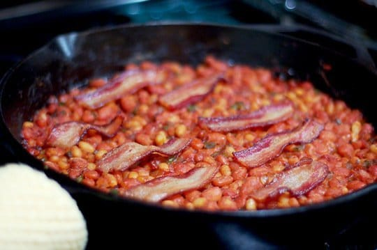 Quick Southern Style Baked Beans From Pioneer Woman