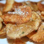 Homemade Rosemary Salt-and-Vinegar Chips