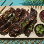 Grilled Teriyaki Beef Short Ribs