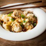 Sichuan Pork Wontons - Chao Shou