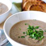 Mushroom & Chia Soup