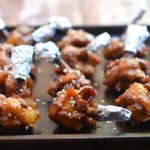 Plum Sauced Chicken Wings