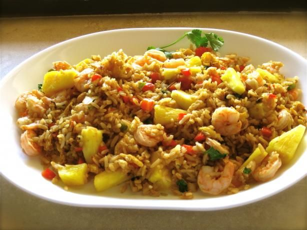 asian spicy shrimp fried rice recipe chefdehome com fried rice thaw ...