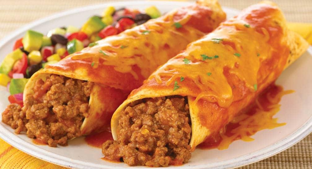 Simple Perfect Enchiladas - Going My Wayz