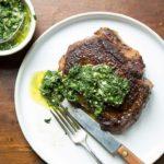 Gaucho Steaks with Chimichurri Vinaigrette