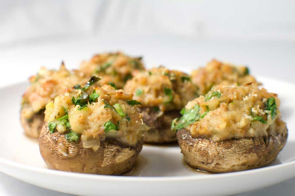 Boursin-Stuffed Mushrooms - Going My Wayz