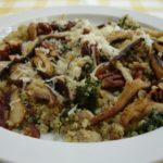 Quinoa With Shiitakes