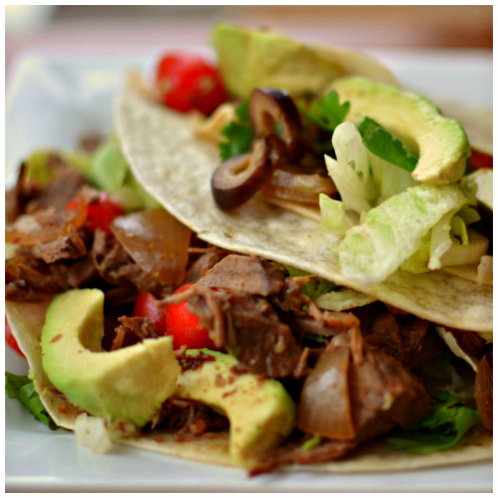Crock Pot Beef Carnitas Tacos - Going My Wayz