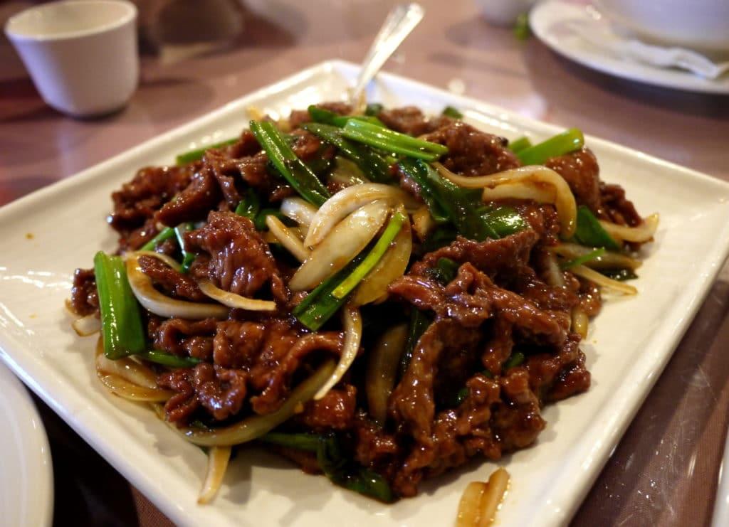 szechuan beef  going my wayz