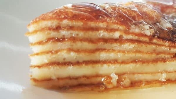 Albanian Flija Pancake