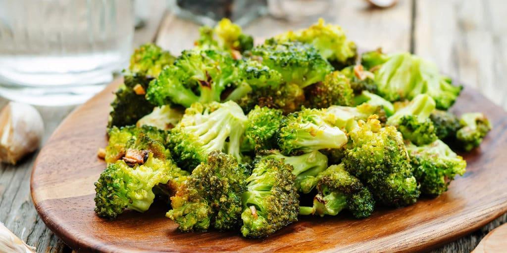 Garlicky Roasted Broccoli