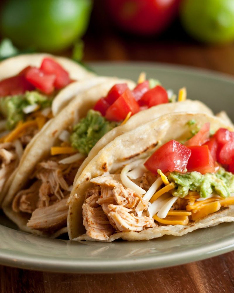 Slow-Cooker Shredded Chicken Tacos - Going My Wayz