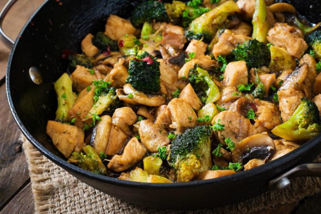 Thai Chicken Broccoli