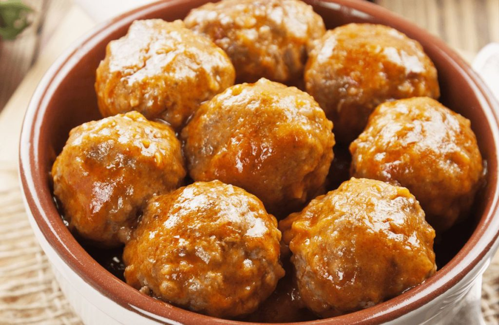 Brown Rice Porcupine Meatballs