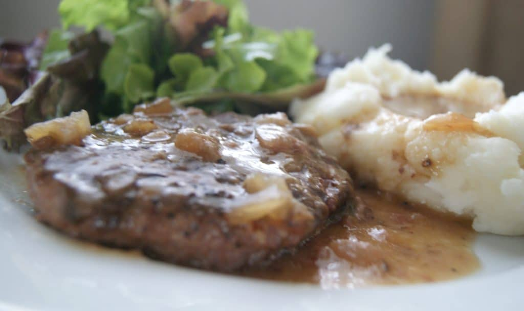 Ree Drummond's Salisbury Steak