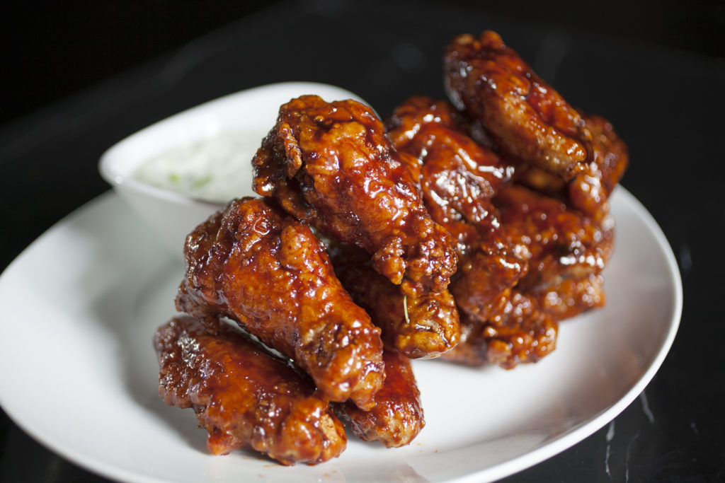 Slow Cooker Mahogany Chicken Wings